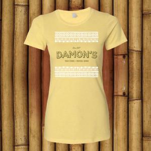 Damon's T-shirt #2 (Ladies)$19.99