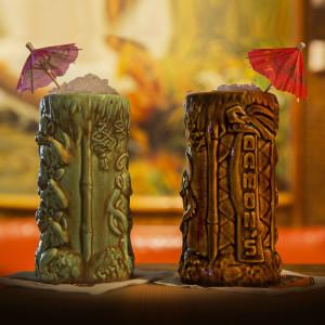 TIki Mug by Thor (green or brown)$34.99